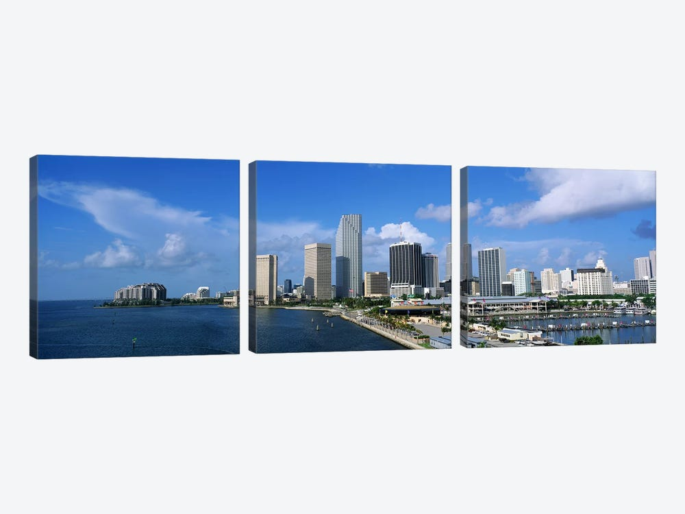Miami FL #2 by Panoramic Images 3-piece Canvas Art Print