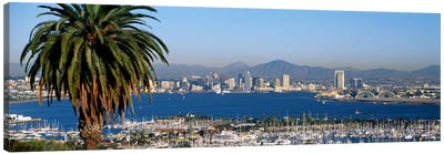 San Diego CA Canvas Art Print
