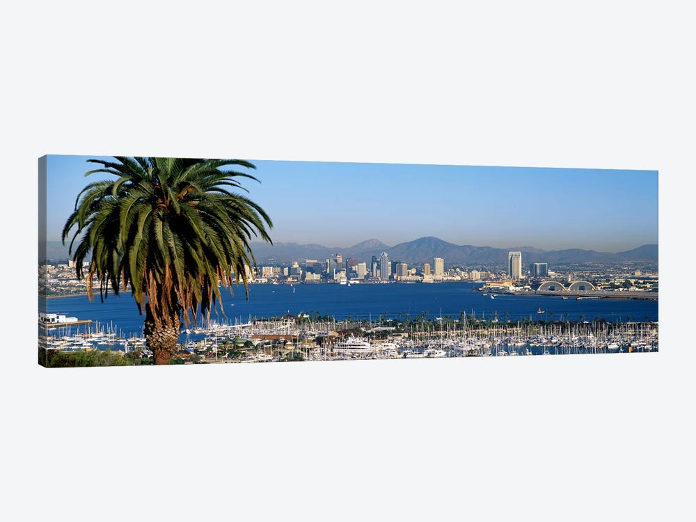 San Diego CA by Panoramic Images 1-piece Canvas Artwork