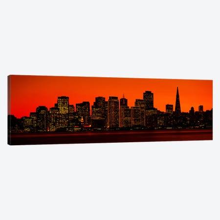 San Franscisco CA Canvas Print #PIM3251} by Panoramic Images Canvas Art Print