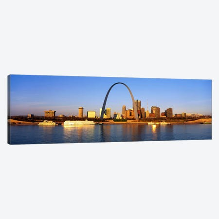 St. Louis Skyline Canvas Print #PIM3252} by Panoramic Images Canvas Print