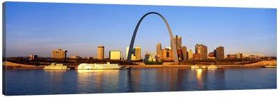 St. Louis Skyline Canvas Print #PIM3252