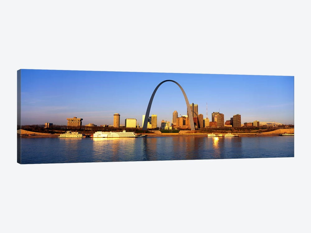 St. Louis Skyline by Panoramic Images 1-piece Canvas Wall Art