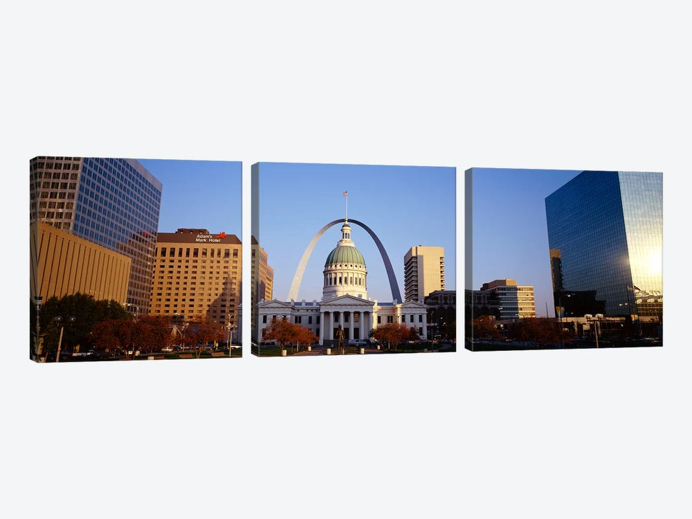 St. Louis MO 3-piece Art Print