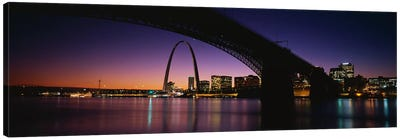 St. Louis MO Canvas Art Print