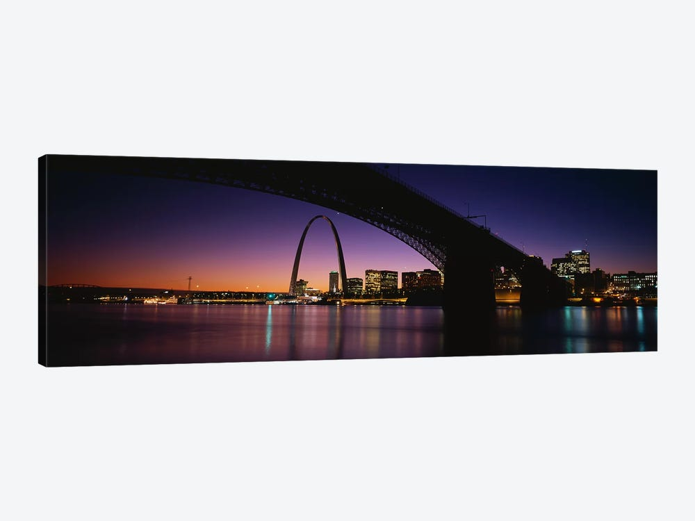 St. Louis MO by Panoramic Images 1-piece Canvas Artwork