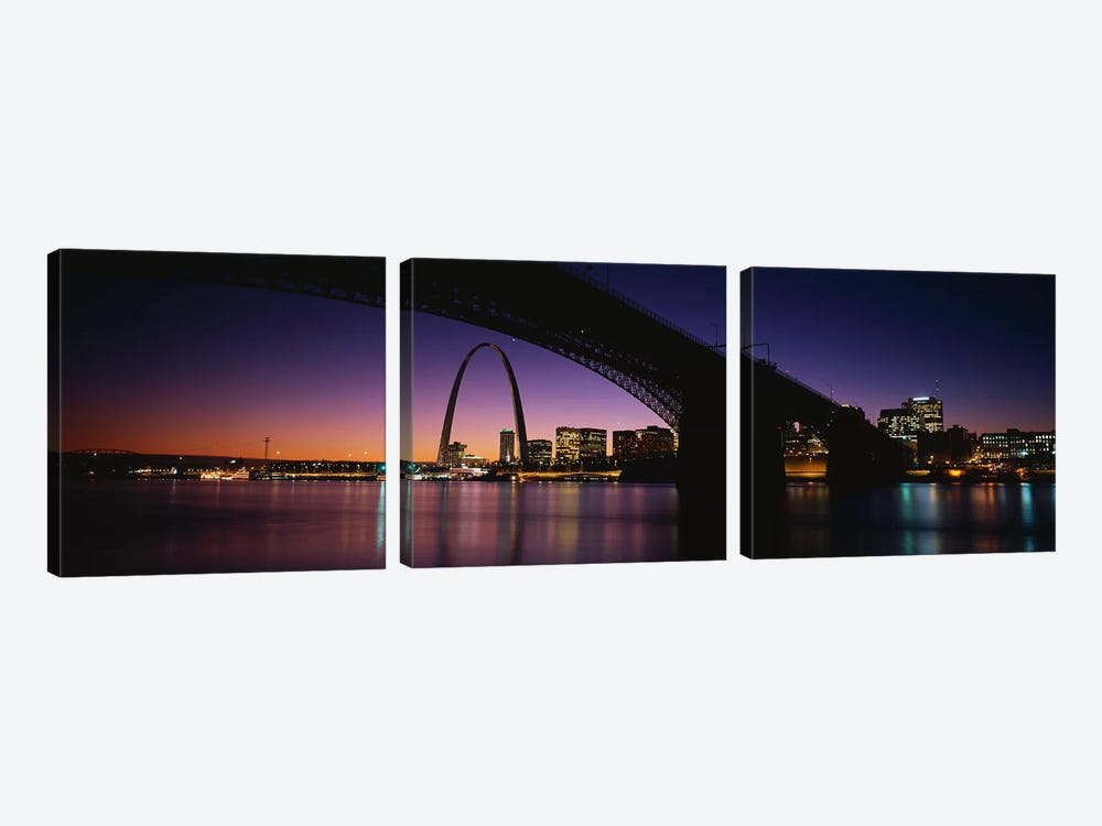 St. Louis MO by Panoramic Images 3-piece Canvas Art