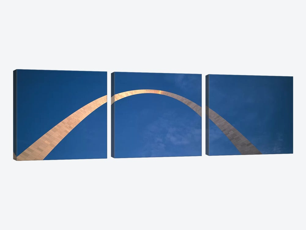St. Louis Arch by Panoramic Images 3-piece Canvas Print