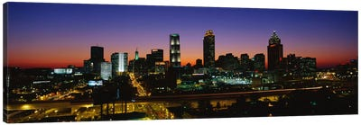 Atlanta GA #2 Canvas Art Print