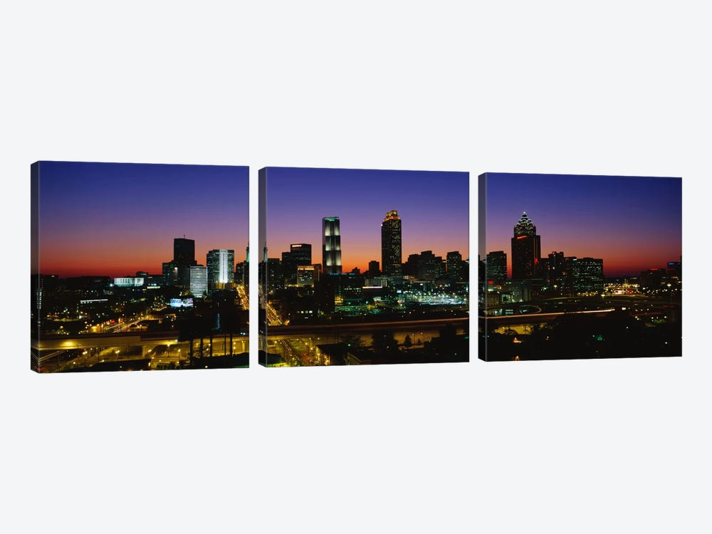 Atlanta GA #2 by Panoramic Images 3-piece Art Print