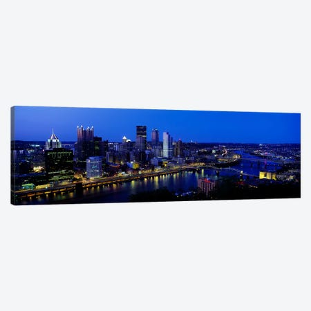 Pittsburgh PA #2 Canvas Print #PIM3259} by Panoramic Images Art Print