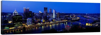 Pittsburgh PA #2 Canvas Print #PIM3259