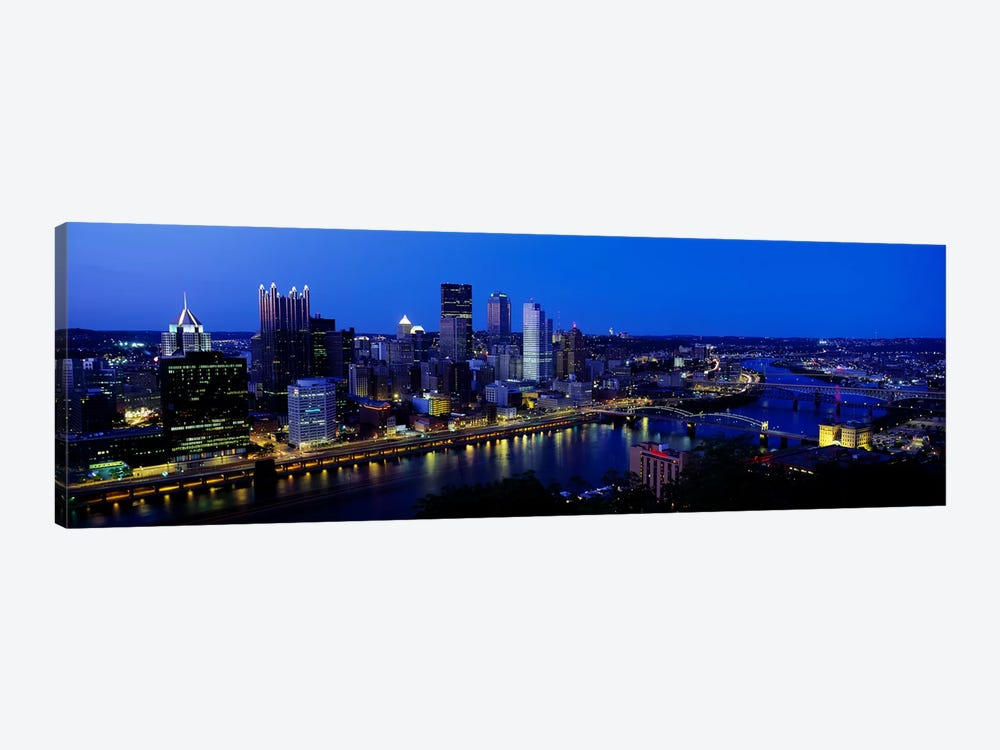 Pittsburgh PA #2 by Panoramic Images 1-piece Canvas Art Print