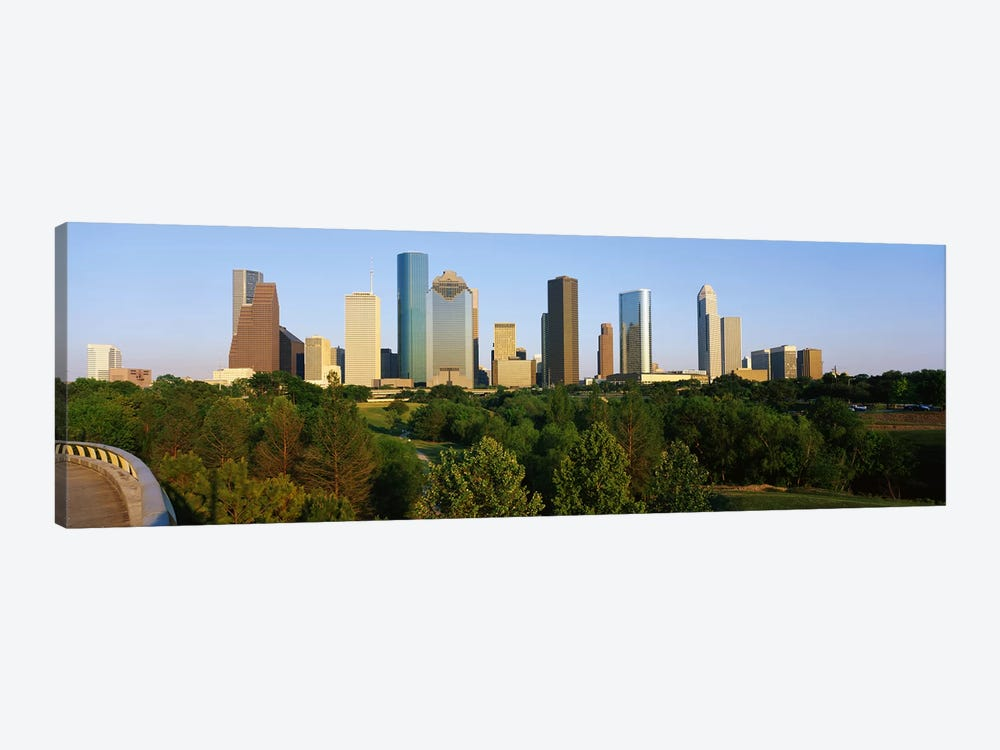 Downtown Houston by Panoramic Images 1-piece Canvas Art