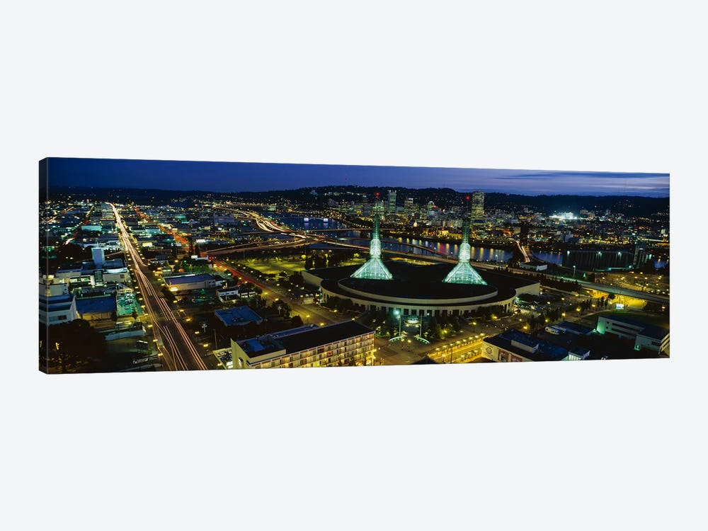 Portland OR by Panoramic Images 1-piece Canvas Wall Art