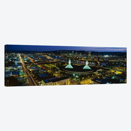 Portland OR Canvas Print #PIM3265} by Panoramic Images Canvas Print