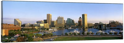 Baltimore MD Canvas Art Print