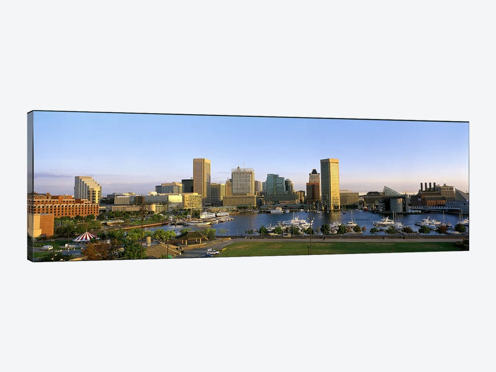 Baltimore MD by Panoramic Images 1-piece Canvas Wall Art
