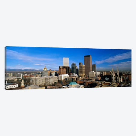 Denver CO Canvas Print #PIM3268} by Panoramic Images Canvas Wall Art