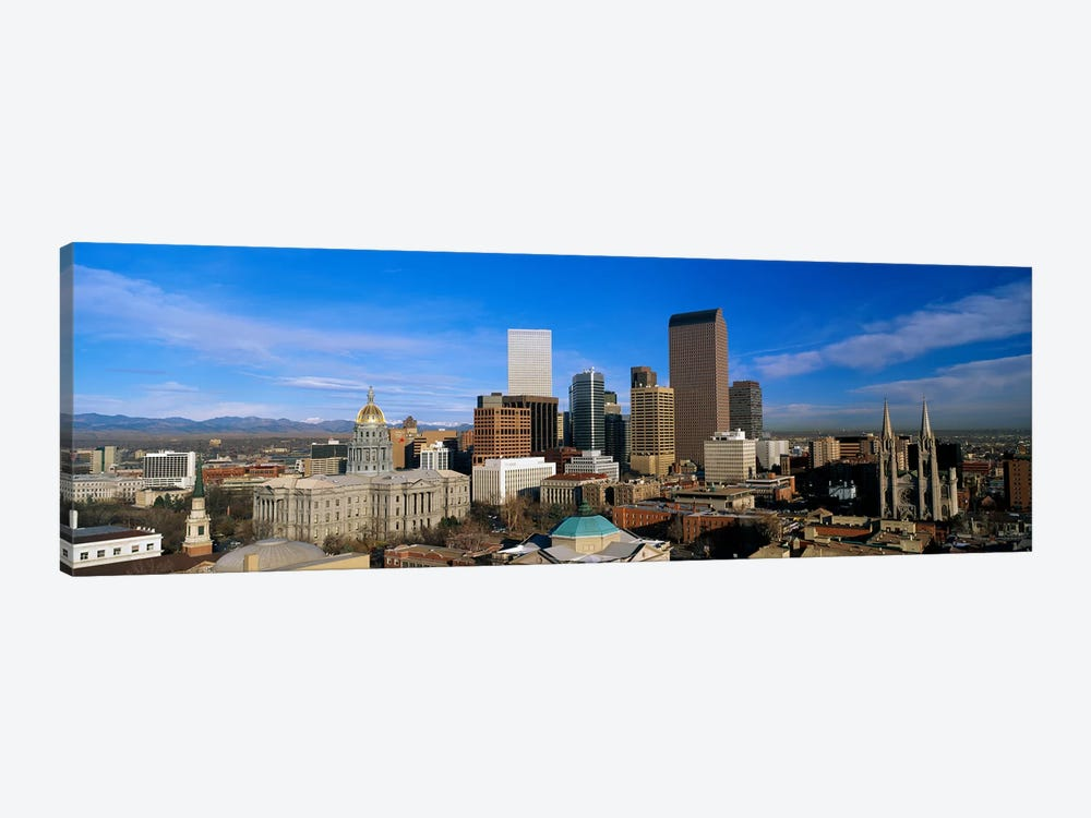 Denver CO by Panoramic Images 1-piece Canvas Print