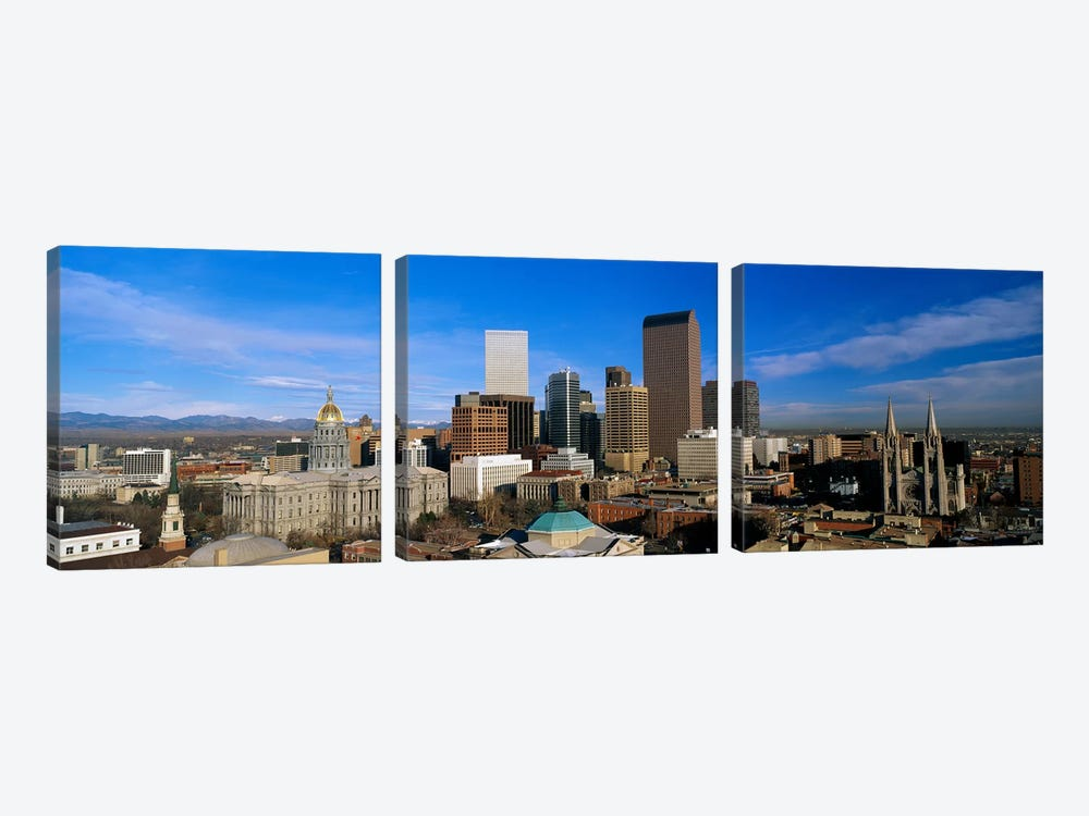 Denver CO by Panoramic Images 3-piece Art Print