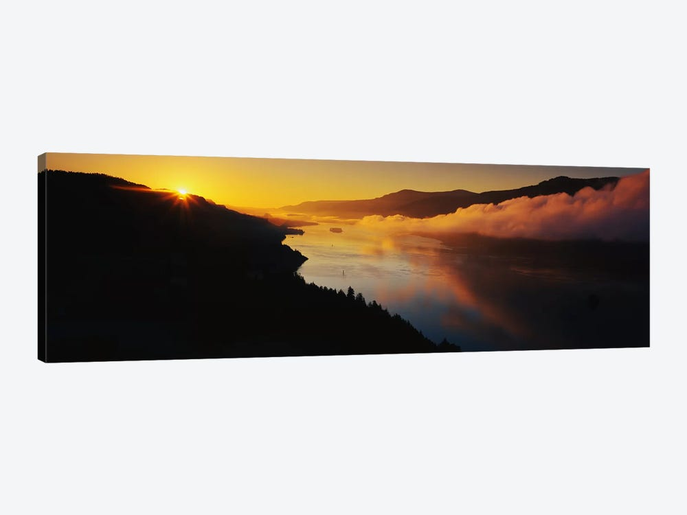 Columbia River Gorge OR 1-piece Canvas Artwork