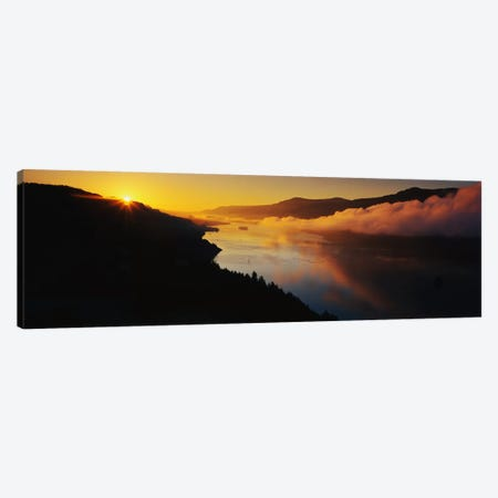 Columbia River Gorge OR Canvas Print #PIM3274} by Panoramic Images Canvas Artwork