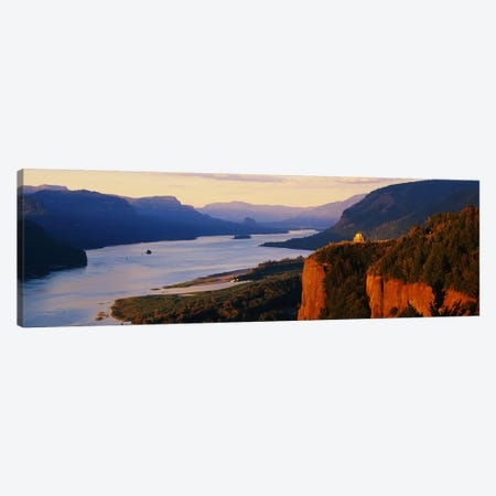 Columbia River OR Canvas Print #PIM3275} by Panoramic Images Canvas Art