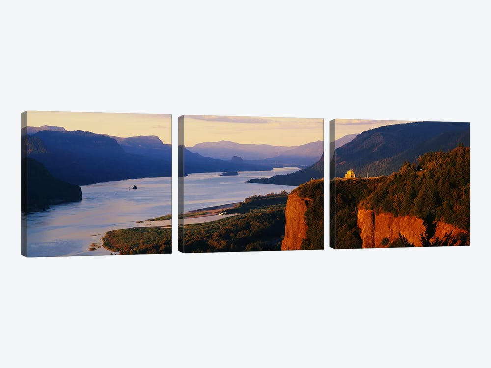 Columbia River OR by Panoramic Images 3-piece Canvas Print