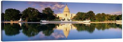 US Capitol Washington DC Canvas Print #PIM3280