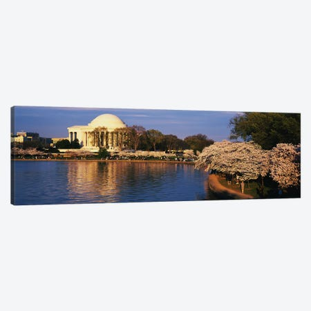 Tidal Basin Washington DC Canvas Print #PIM3283} by Panoramic Images Canvas Art