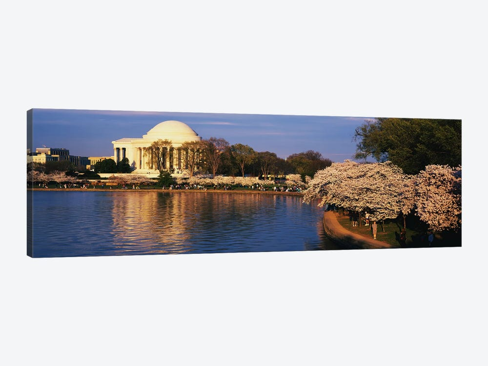 Tidal Basin Washington DC by Panoramic Images 1-piece Canvas Art