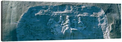 Stone Mountain Confederate Memorial Atlanta GA Canvas Print #PIM3284