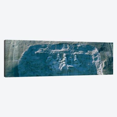 Stone Mountain Confederate Memorial Atlanta GA Canvas Print #PIM3284} by Panoramic Images Canvas Print