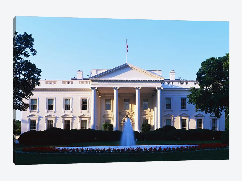 White House Washington DC by Panoramic Images 1-piece Canvas Art Print