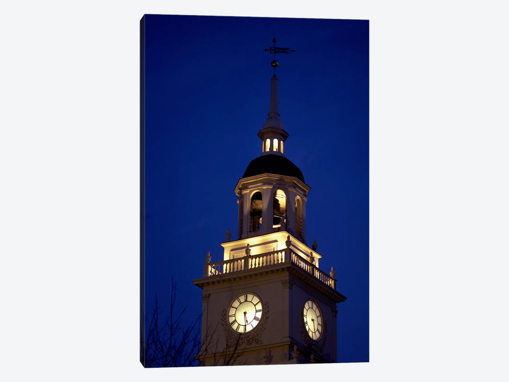 Independence Hall Tower, Philadelphia PA by Panoramic Images 1-piece Art Print