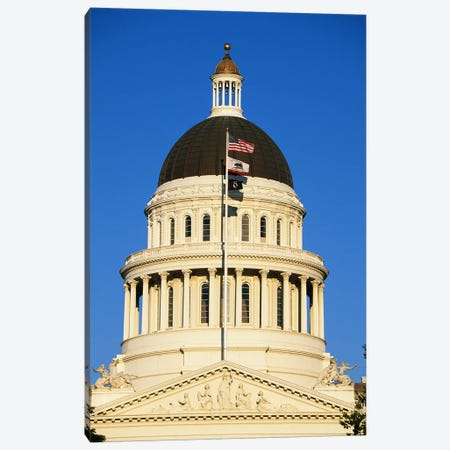 California State Capitol Building Sacramento CA Canvas Print #PIM3289} by Panoramic Images Canvas Artwork