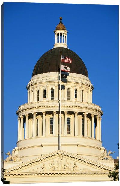 California State Capitol Building Sacramento CA Canvas Print #PIM3289