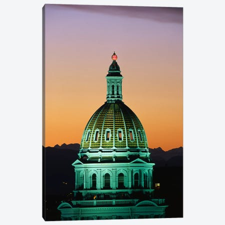Colorado State Capitol Building Denver CO Canvas Print #PIM3290} by Panoramic Images Art Print