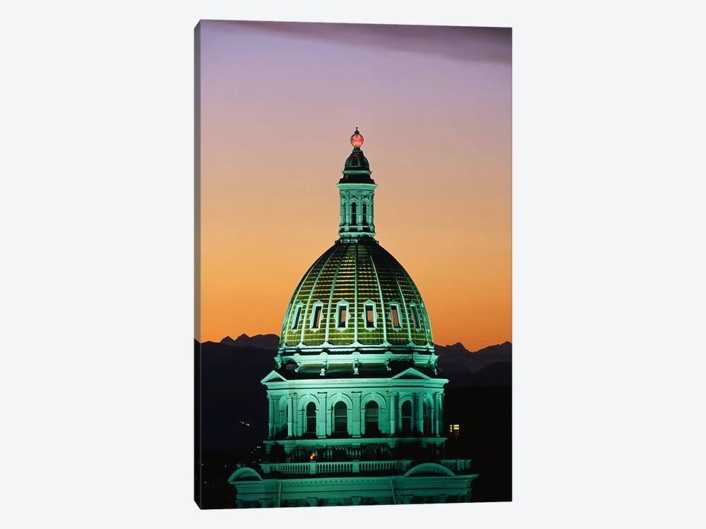 Colorado State Capitol Building Denver CO by Panoramic Images 1-piece Canvas Artwork