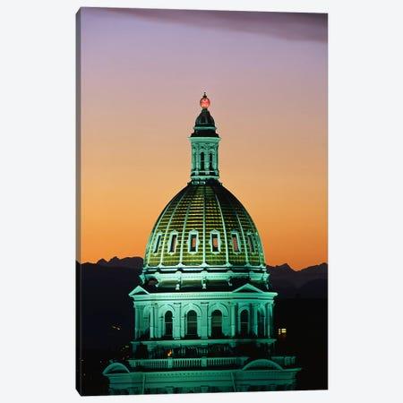 Colorado State Capitol Building Denver CO Canvas Print #PIM3290} by Panoramic Images Art Print