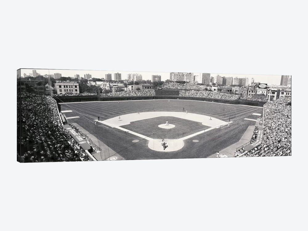 USA, Illinois, Chicago, Cubs, baseball IX by Panoramic Images 1-piece Canvas Art Print