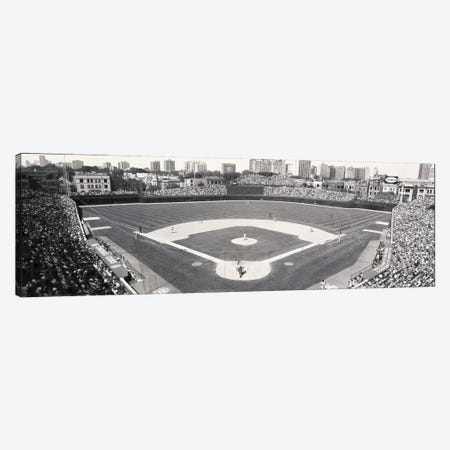 USA, Illinois, Chicago, Cubs, baseball IX Canvas Print #PIM3293} by Panoramic Images Art Print