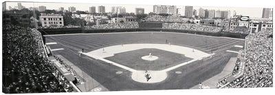 USA, Illinois, Chicago, Cubs, baseball IX Canvas Art Print