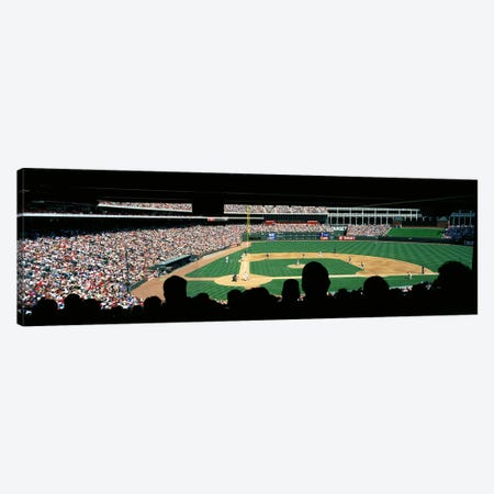 The Ballpark in Arlington Canvas Print #PIM3295} by Panoramic Images Canvas Art