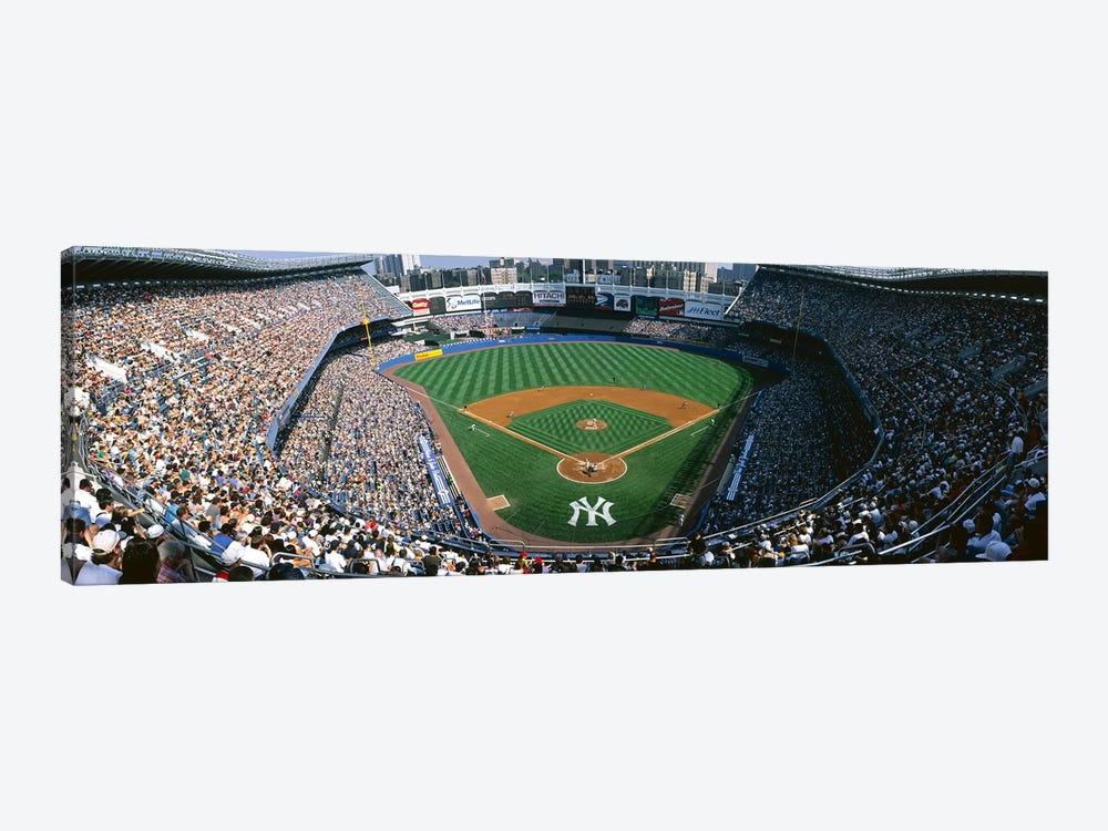 High angle view of a baseball stadium, Yankee Stadium, New York City, New York State, USA by Panoramic Images 1-piece Canvas Art