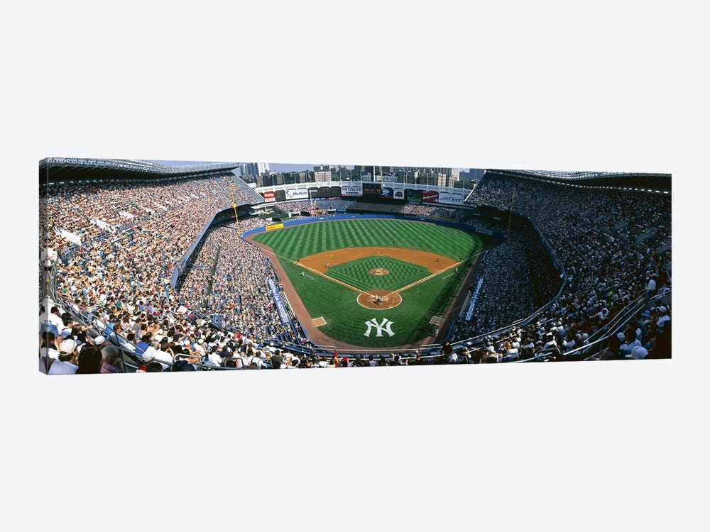 High angle view of a baseball stadium, Yankee Stadium, New York City, New York State, USA by Panoramic Images 1-piece Canvas Art
