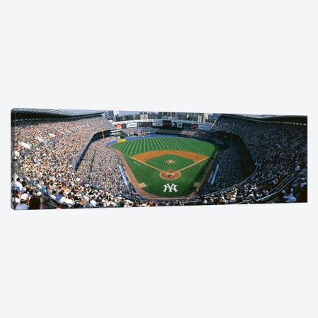 High angle view of a baseball stadium, Yankee Stadium, New York City, New York State, USA Canvas Print #PIM3296} by Panoramic Images Canvas Artwork