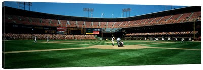Candlestick Park San Francisco CA Canvas Art Print