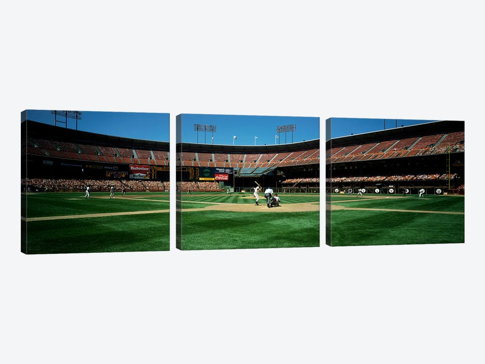 Candlestick Park San Francisco CA by Panoramic Images 3-piece Art Print
